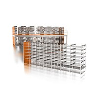 Shelf rack, multi-level